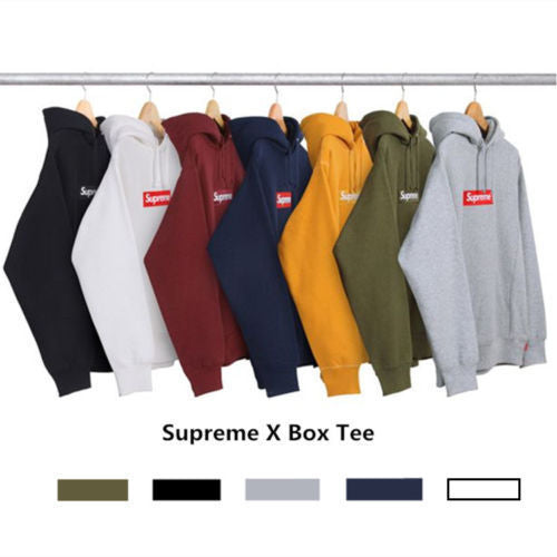 Supreme Box Logo Pullover Hoodie