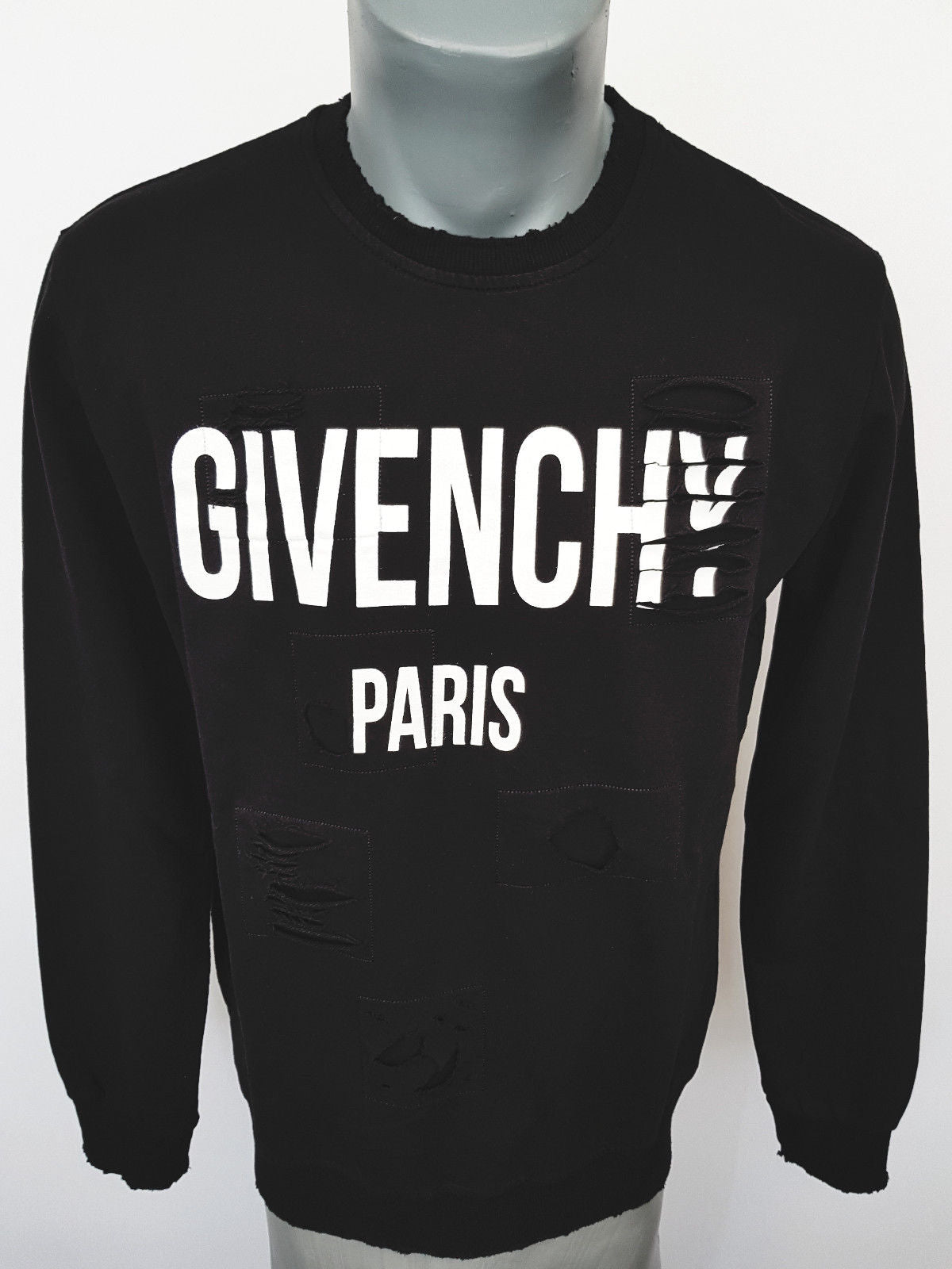 givenchy paris new tags brand sweatshirt sweater now black. Black Bedroom Furniture Sets. Home Design Ideas