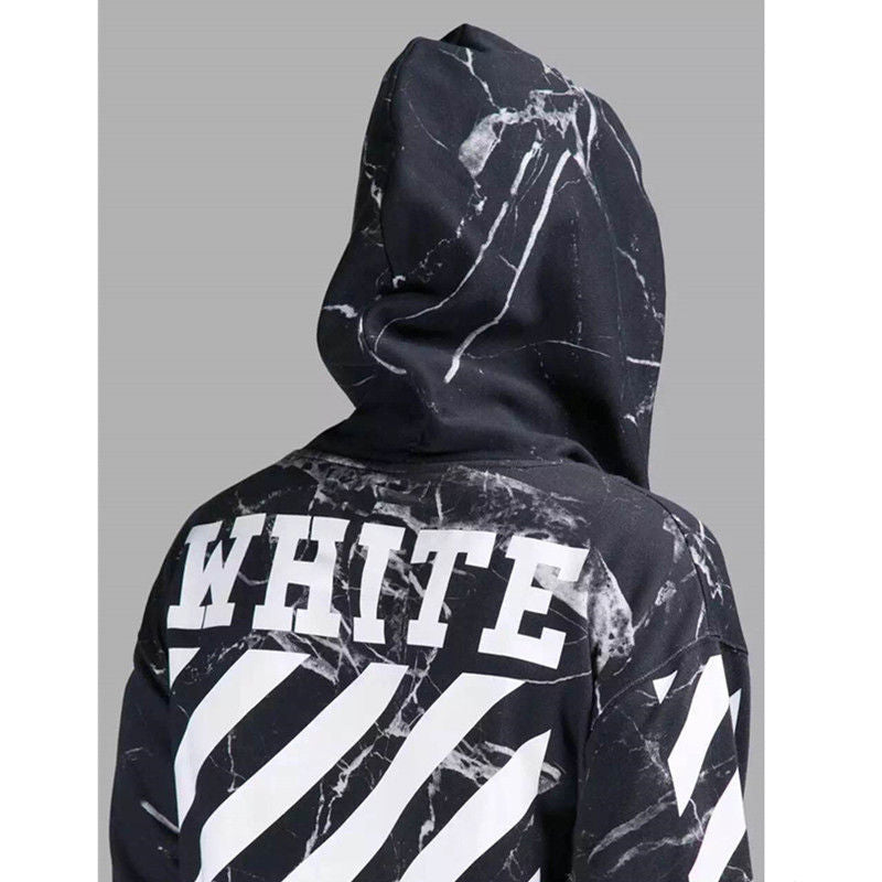 off white hoodie c o virgil abloh religion marble galaxy. Black Bedroom Furniture Sets. Home Design Ideas