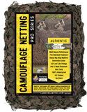 Woodland Military Reinforced Camo Netting - Fire Retardant