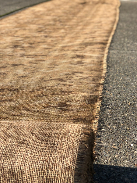 Natural Camouflage Burlap: Bulk Roll and By-The-Foot