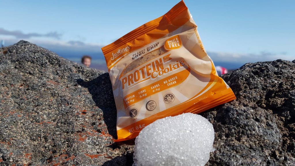 Easy and powerful snacking on the Tongariro Crossing