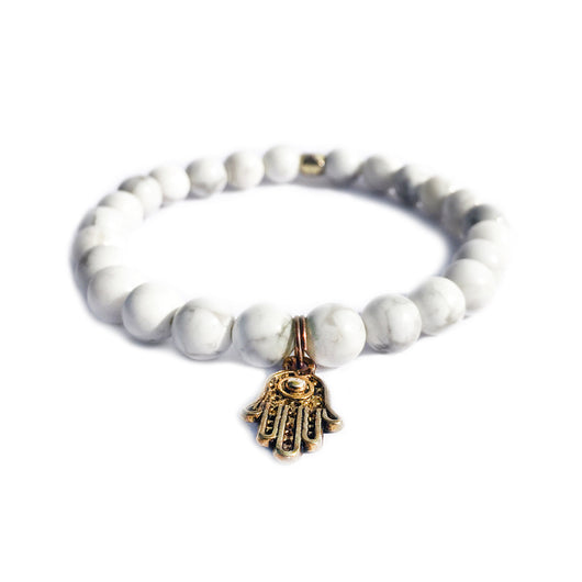 White Hamsa (Jones Collection)