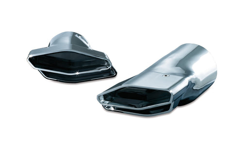 KURYAKYN® EXHAUST TIPS, POLYGON INTEGRATED for GL1800, oem# 7608