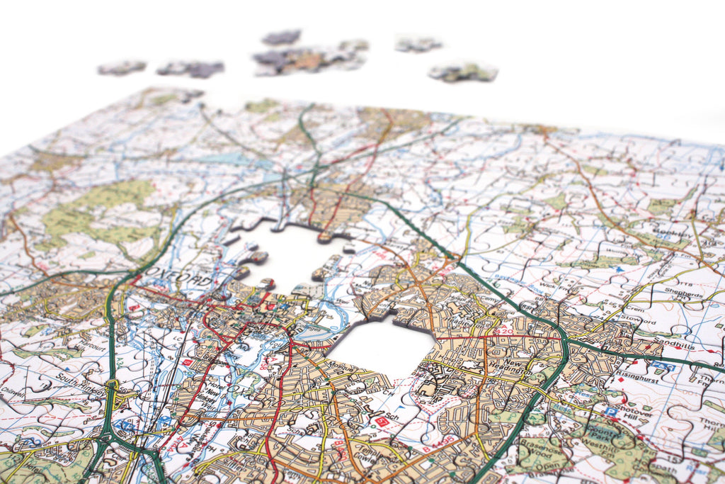 Personalised os map jigsaw puzzles gumiabroncs Choice Image