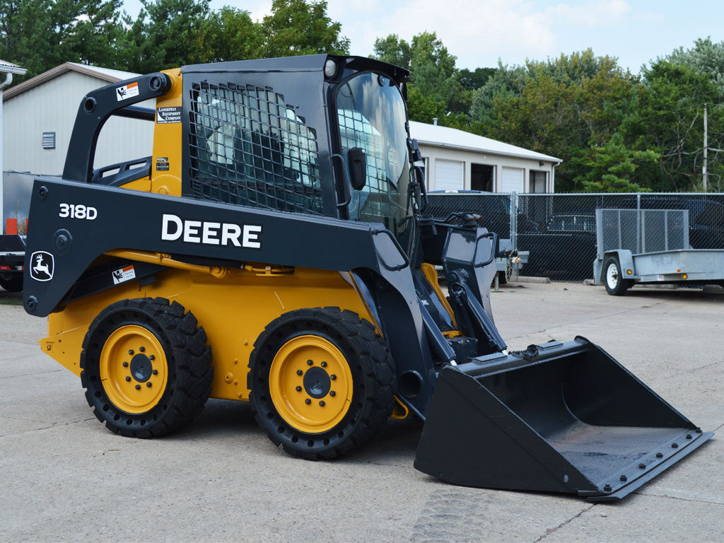 New Product offering - John Deere 318D skid steer loader