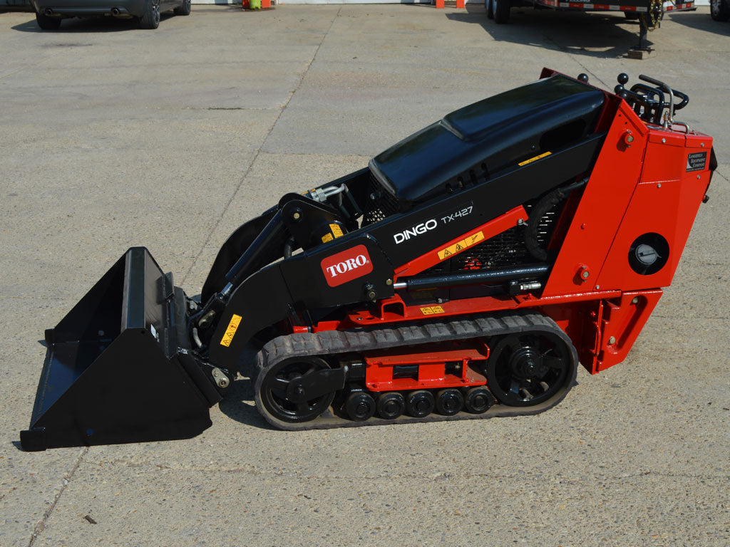 NEW PRODUCT OFFERING - TORO DINGO TX427 MINI LOADER