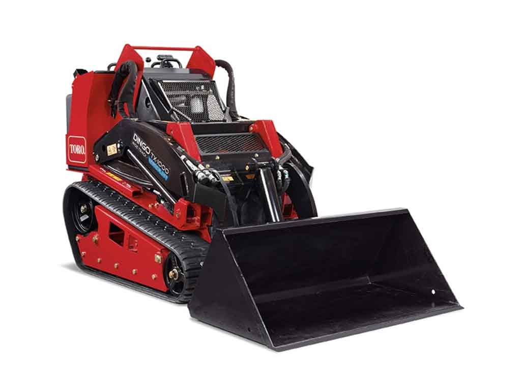 Mini Skid Steer - Compact Tool Carrier