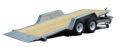 FELLING FT-16-IT-I TILT UTILITY TRAILER, DROP DECK