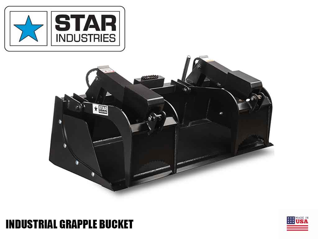 STAR Industrial Grapple Bucket