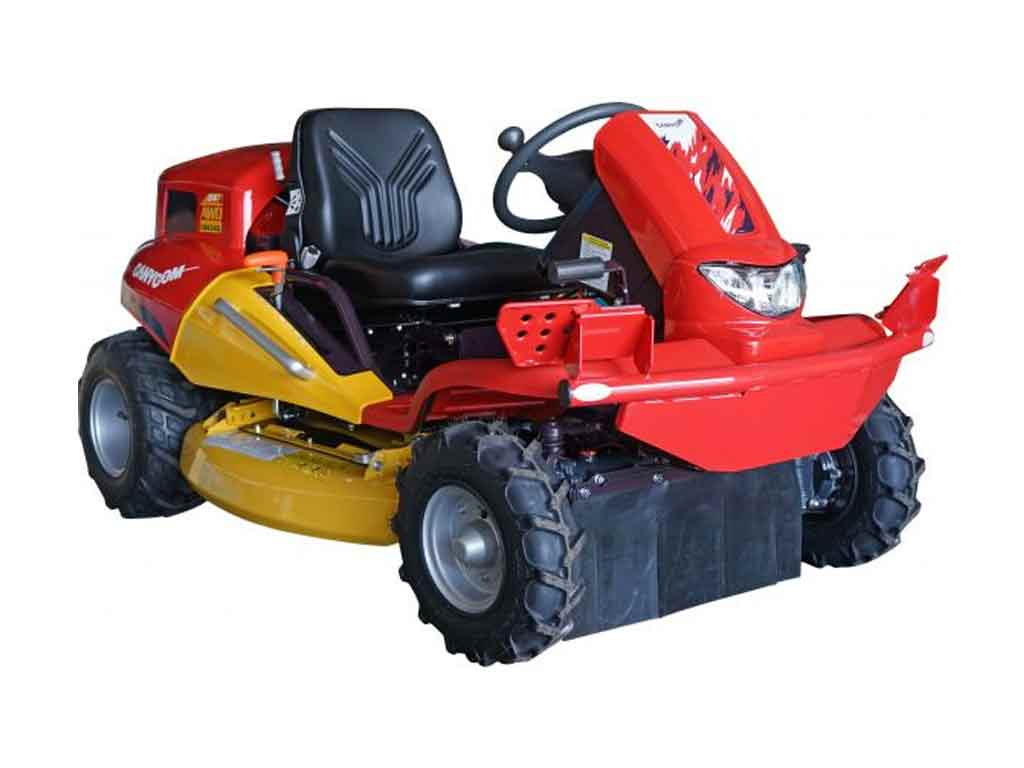 Canycom CMX 2402 ride on brush cutter