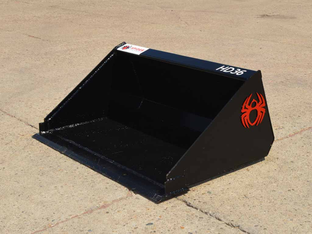 SPIDER heavy duty low profile bucket, Standard edge (ML)