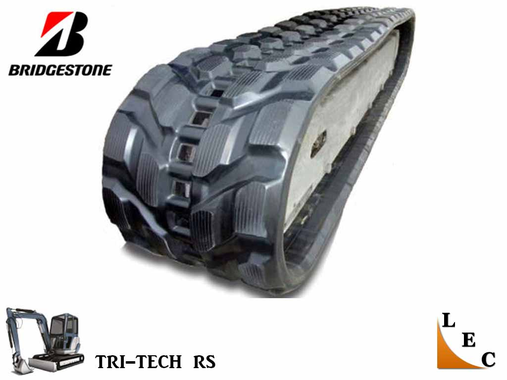 BRIDGESTONE RUBBER TRACK, TRI-TECH, 250x37x109, CAT 302.4D