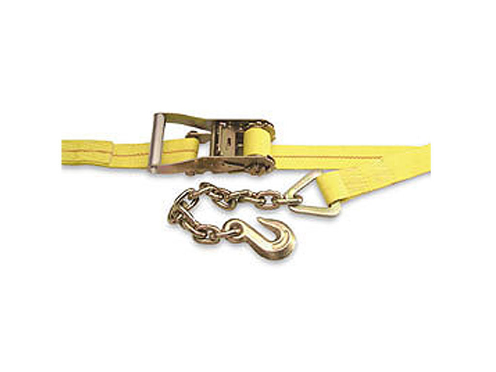 KINEDYNE Ratchet Straps - 2 Inch Webbing, Wide Handle