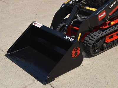 SPIDER heavy duty mini loader low profile, double punched edge (ML)