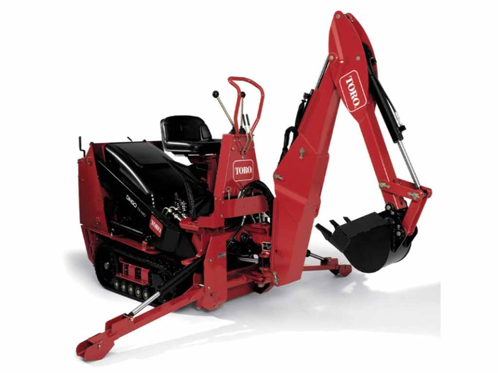 TORO DINGO BACKHOE, MINI LOADER (ML)