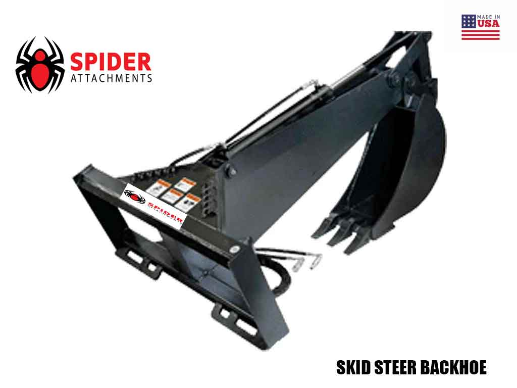 SPIDER ATTACHMENTS SKID STEER BACKHOE