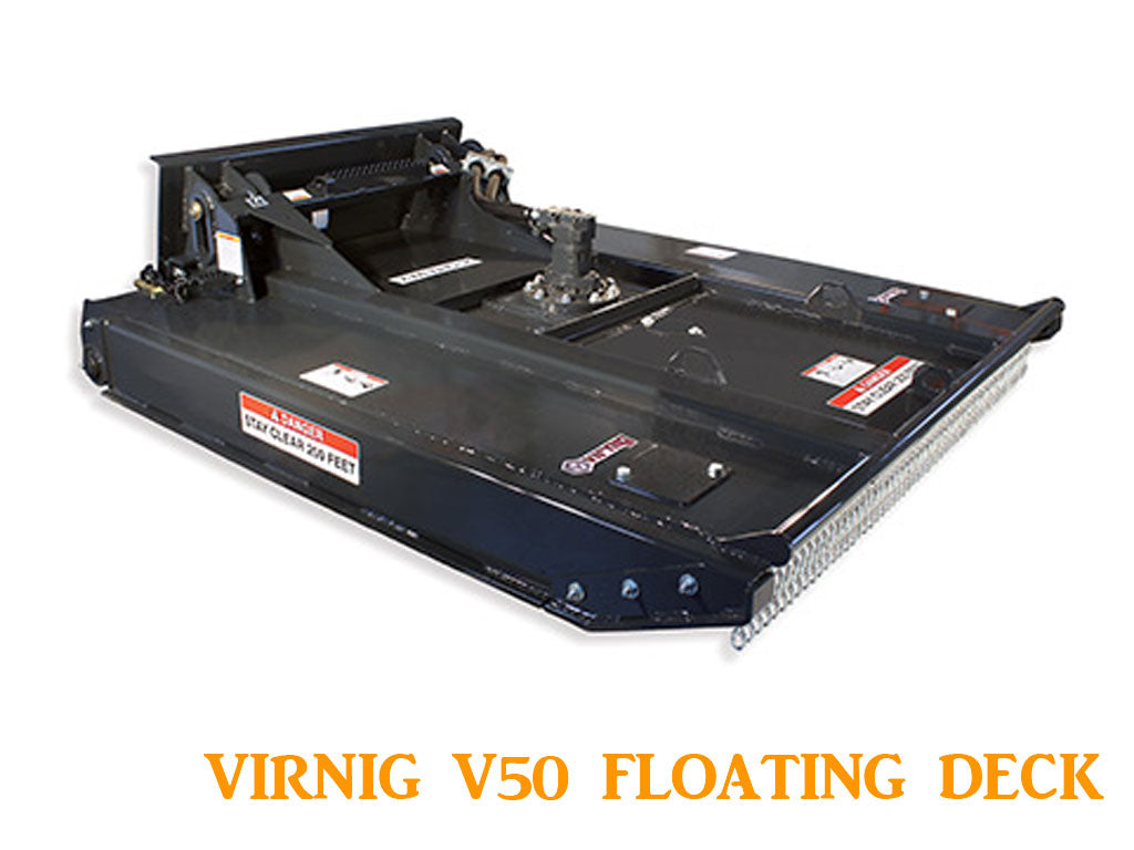 Virnig V50 Rotary Brush Cutter Floating Deck - High Flow (SSL)(CTL)