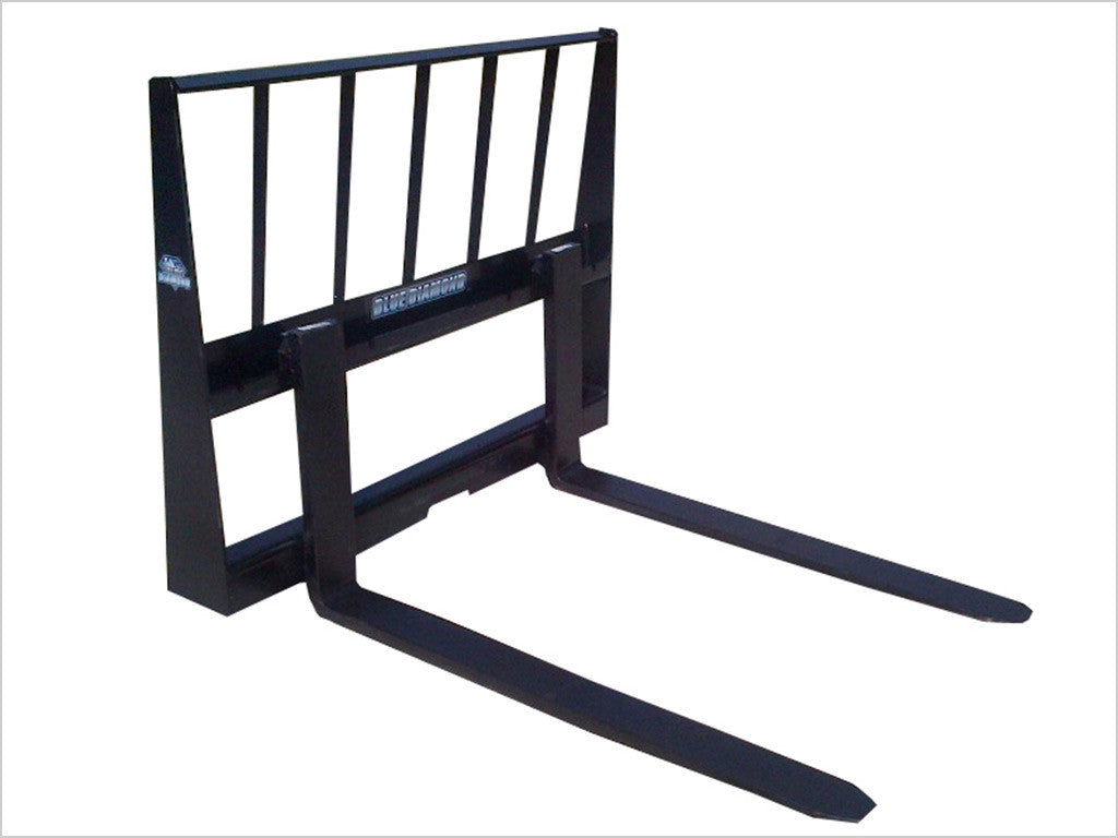BLUE DIAMOND LIGHT DUTY 2000 LB PALLET FORKS