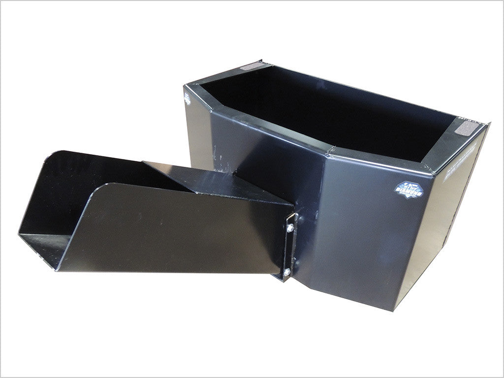 BLUE DIAMOND DISPENSING BUCKET FOR SKID STEER