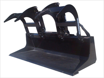 "BLUE DIAMOND GRAPPLE BUCKET FOR SKID STEERS, 72"" HEAVY DUTY"