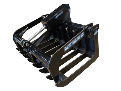 "BLUE DIAMOND GRAPPLES FOR MINI SKID STEERS, 38"" ROOT GRAPPLE"