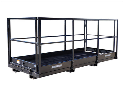 BLUE DIAMOND WORK PLATFORMS FOR FORKLIFTS, 4' X 12'