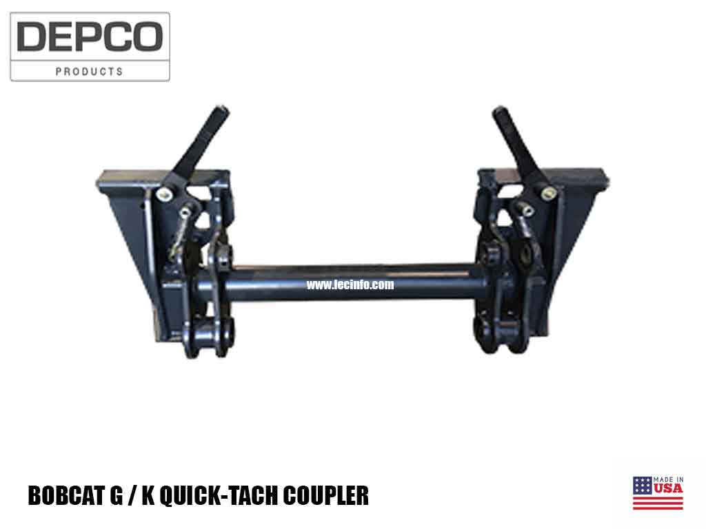 BOBCAT G & K SERIES QUICK-TACH COUPLER (SSL)(CTL)