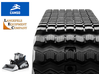 CAMSO SD SERIES RUBBER TRACK, JCB 225T