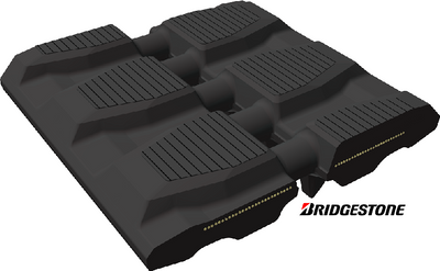 BRIDGESTONE RUBBER TRACK, BLOCK PATTERN, 320x50x86KF, NEW HOLLAND C175