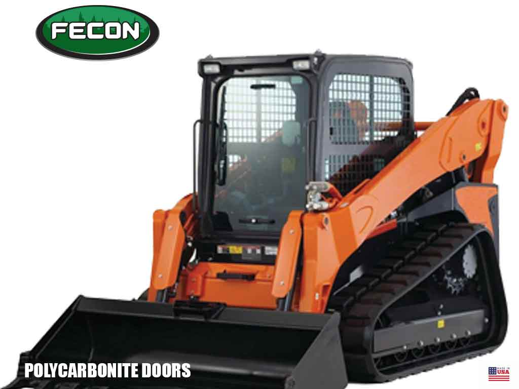 FECON polycarbonate safety doors