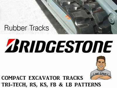 BRIDGESTONE RUBBER TRACK, TRI-TECH, 230x70x48RS, CAT 301.5, 301.8C