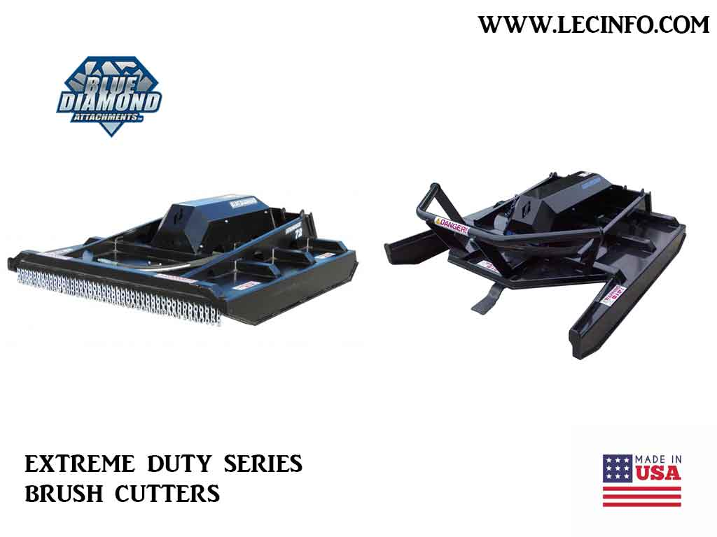 BLUE DIAMOND EXTREME DUTY SERIES BRUSH CUTTER (SSL)(CTL)