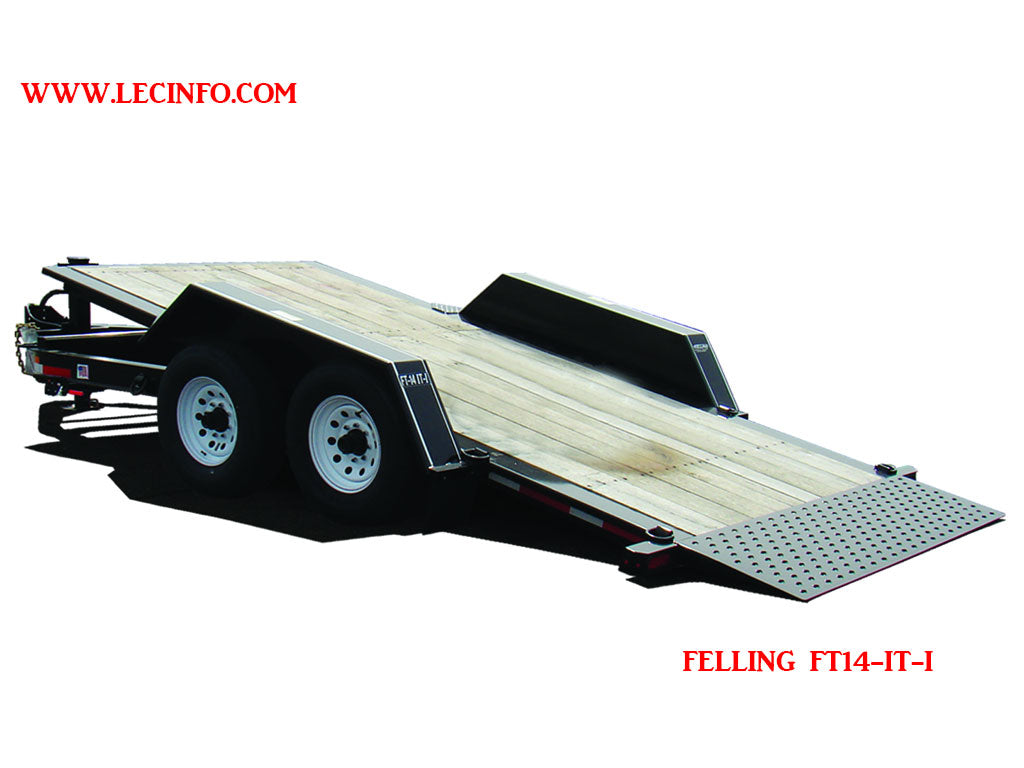 felling ft 14 it i w stationary deck utility trailer  felling trailer wiring harness for a #13