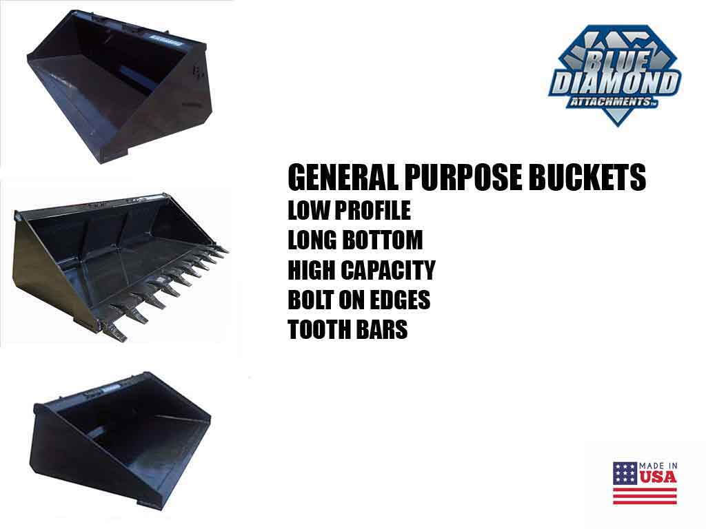 BLUE DIAMOND general purpose buckets