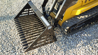 BLUE DIAMOND MINI ROCK BUCKET, (ML) MINI LOADER
