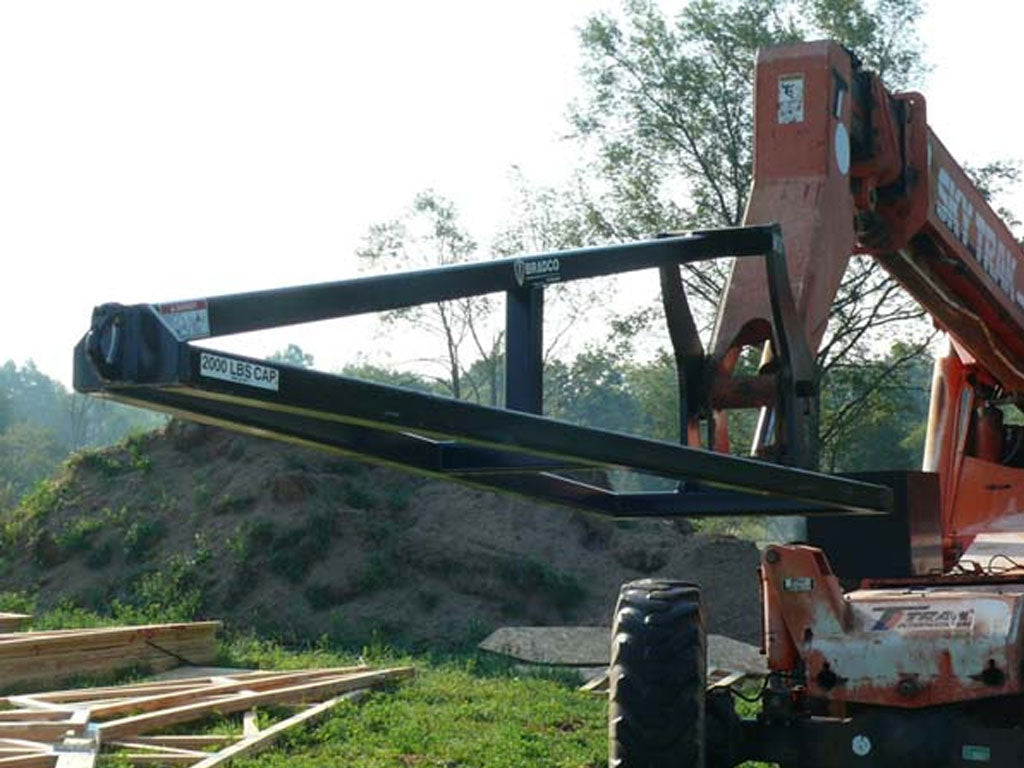 BRADCO TRUSS BOOM / JIB FOR BACKHOE LOADERS & WHEEL LOADERS