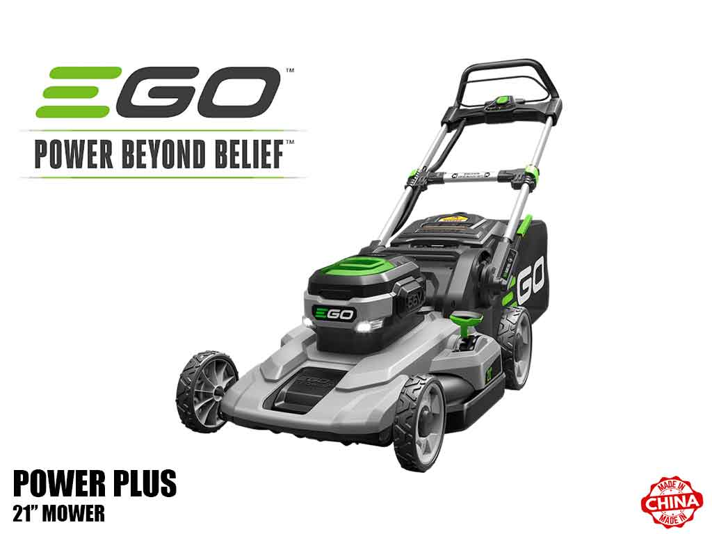 "EGO power plus 21"" battery powered mower"