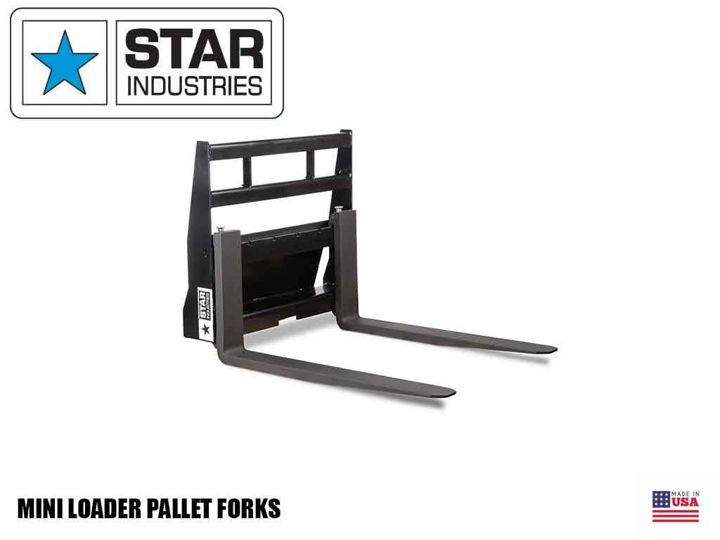 STAR Mini Loader Pallet Forks (ML)