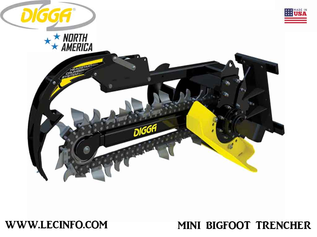 DIGGA MINI BIGFOOT TRENCHER