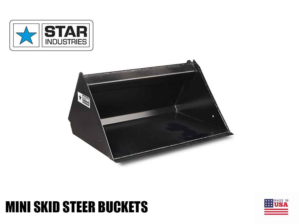 STAR mini loader bucket
