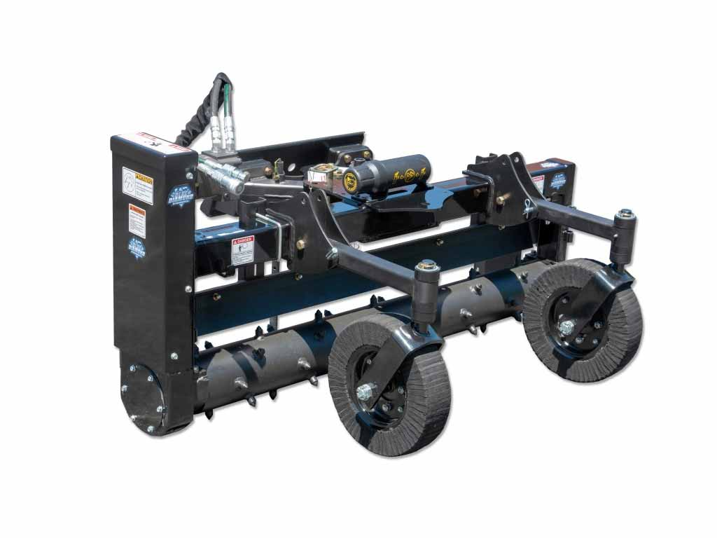 BLUE DIAMOND MINI LOADER POWER RAKE (ML)