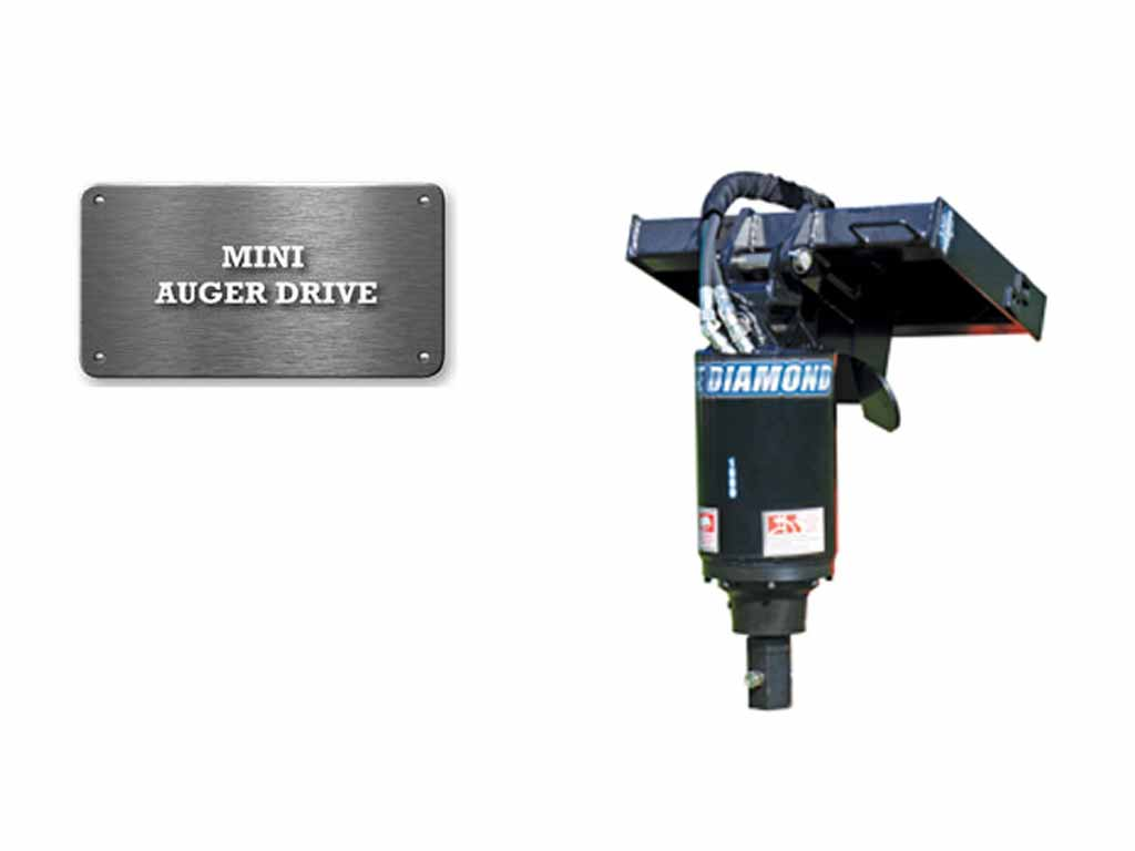 BLUE DIAMOND MINI AUGER DRIVE, MINI LOADERS (ML)