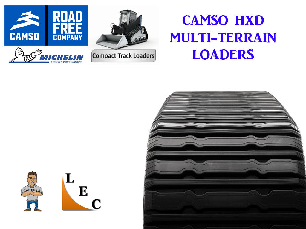 MICHELIN / CAMSO HXD MULTI TERRAIN LOADER TRACKS, CAT 287B
