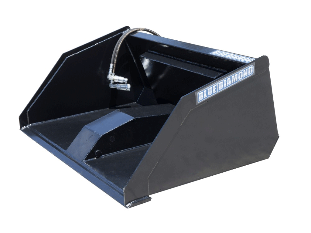 BLUE DIAMOND MINI FRONT DUMP BUCKET (SSL)