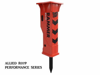 ALLIED Rammer performance series hydraulic hammers, small range(SSL)(CTL)(ML)(EXC)(TLB)