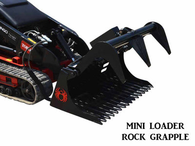 SPIDER MINI LOADER ROCK GRAPPLE (ML)