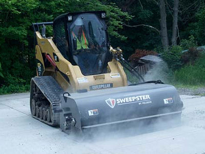 "SWEEPSTER SB ""COLD PLANING"" PICK UP BROOM (SSL)(CTL), 15 TO 25 GPM RANGE"