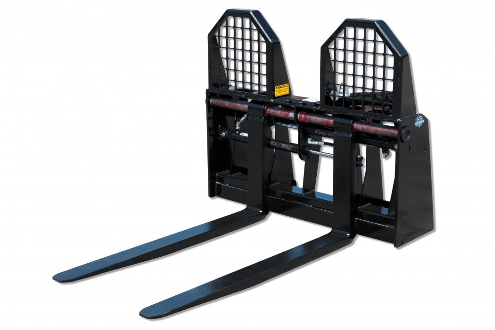BLUE DIAMOND SEVERE DUTY HYDRAULIC ADJUSTING PALLET FORKS