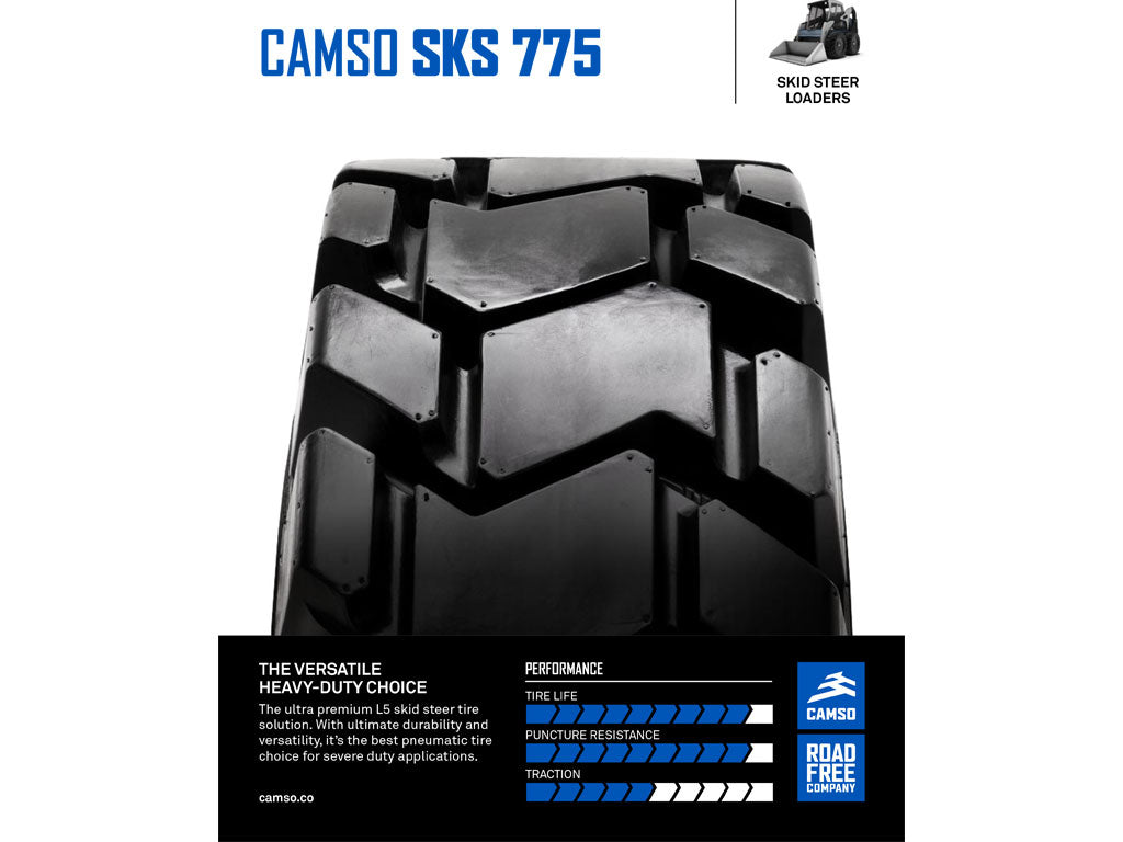 CAMSO SKS 775, (SSL) SKID STEER LOADER